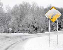 Icy Roadway Accidents in Greenville