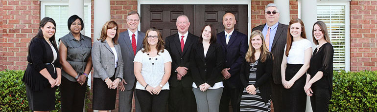 the attorneys and staff of Harbin and Burnett